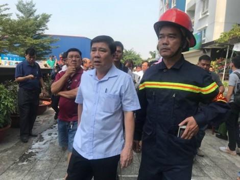 Chủ tịch UBND TP Nguyễn Thành Phong: Vì sao hệ thống báo cháy không hoạt động?