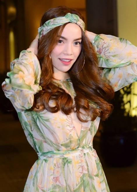 Cách sao Việt hô biến mái tóc trở nên mát mẻ bằng khăn turban