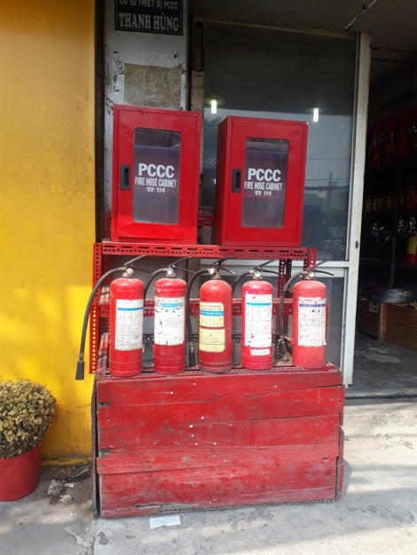Hỏa hoạn rình rập, thị trường tràn lan bình chữa cháy trôi nổi