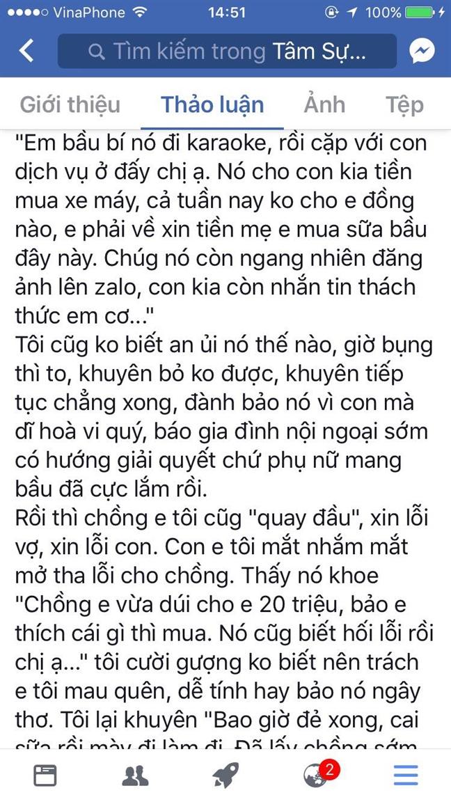 Chong kiem 50 trieu mot thang, vo khong di lam va bai hoc cho chi em