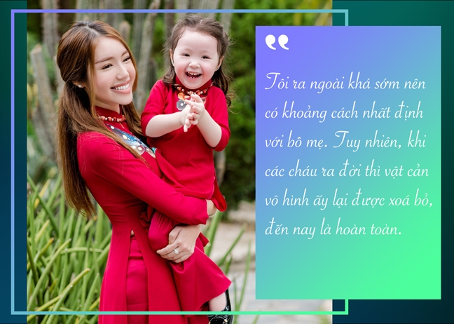 Elly Tran: 'Phu nu hon nhau khong phai tam chong, ma la phan con cai'