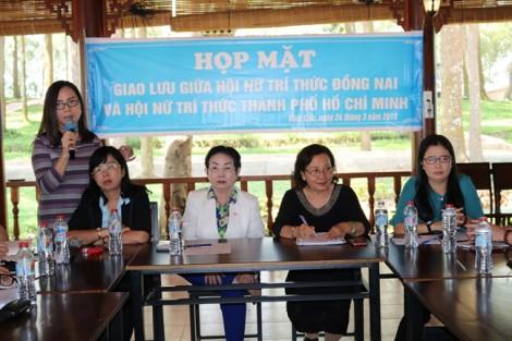 Hội Nữ Trí thức TP.HCM hợp tác cùng Hội Nữ Trí thức tỉnh Đồng Nai