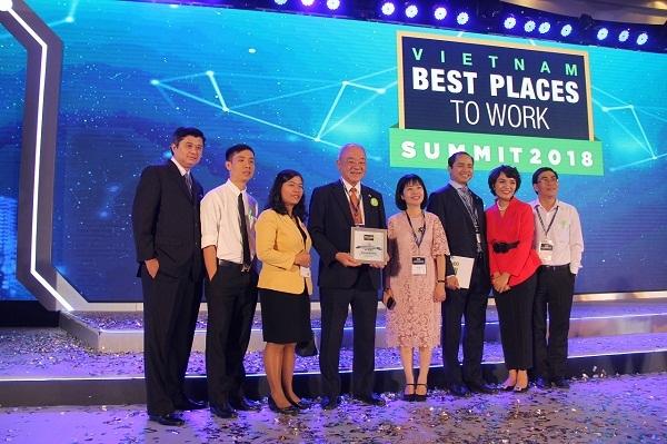 Acecook Viet Nam o vi tri 27 trong 'Top 100 noi lam viec tot nhat Viet Nam'