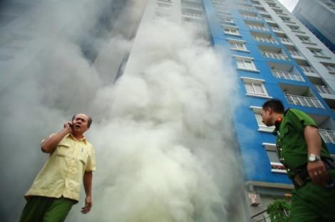Vụ cháy chung cư Carina: Các hệ thống PCCC đều hư cùng thời điểm