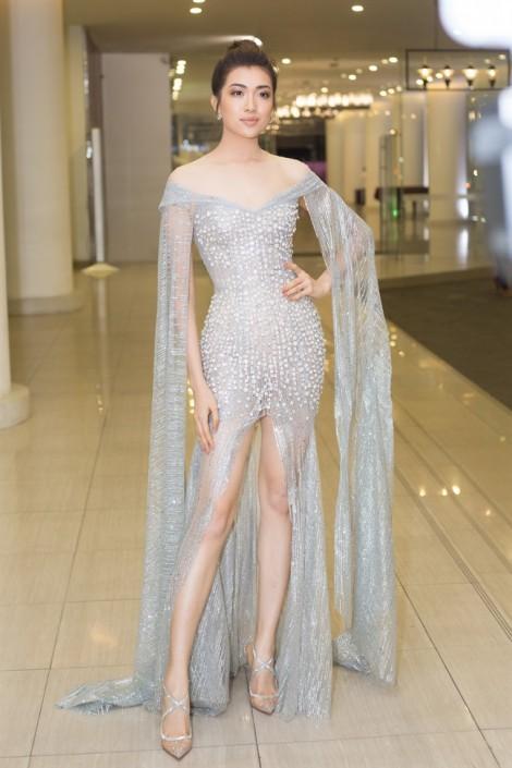 Lệ Hằng gợi cảm 'đọ sắc' dàn người đẹp Hoa hậu Hoàn vũ
