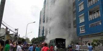 Vụ cháy chung cư Carina khiến trường mầm non mất chỗ dạy