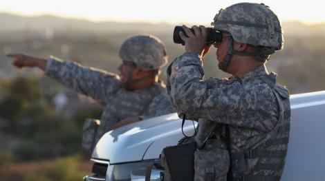 Mỹ điều vệ binh quốc gia canh biên giới với Mexico