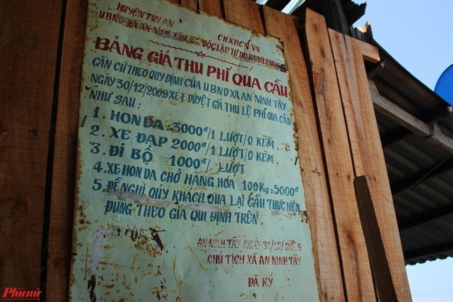 Vi vu tren cay cau go dai nhat Viet Nam