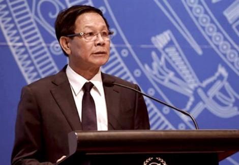 Khởi tố, bắt tạm giam cựu Tổng cục trưởng Tổng cục Cảnh sát Phan Văn Vĩnh