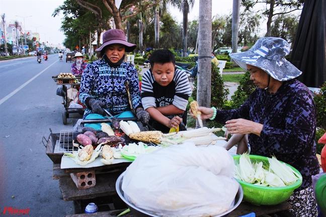 Bap nuong mam he, dac san dung di dat Phu Yen