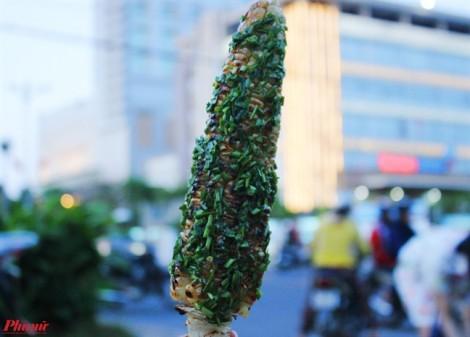 Bắp nướng mắm hẹ, đặc sản dung dị đất Phú Yên
