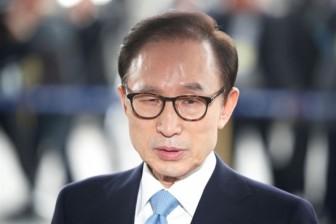 Cựu Tổng thống Hàn Quốc Lee Myung Bak bị truy tố tội tham nhũng