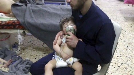 Tấn công hóa học ở Syria: Khoảnh khắc kinh hoàng của cái chết