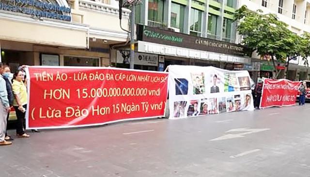 UBND TP.HCM chi dao cong an dieu tra duong day da cap tien ao 15.000 ty dong