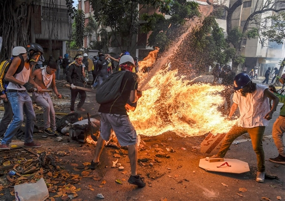 World Press Photo 2018: 'Nguoi boc chay' dat giai anh bao chi cua nam
