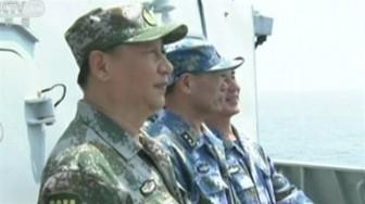 Trung Quốc tập trận quy mô lớn chưa từng có ở Biển Đông