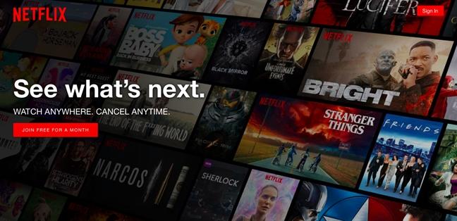 Netflix dang de doa rap chieu phim toan cau nhu the nao?