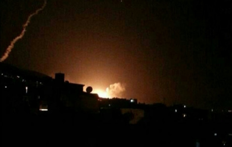 Hệ thống phòng không Syria đối phó với tên lửa Anh, Mỹ