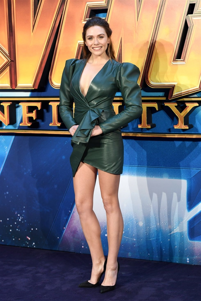Kieu nu Hollywood Elizabeth Olsen mac dep nhat tuan qua