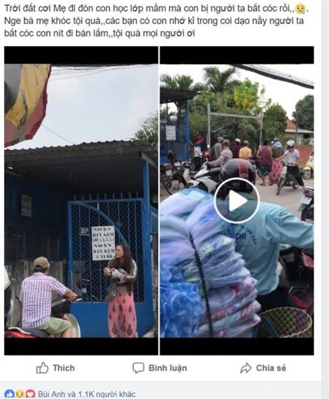 Thực hư chuyện bé gái 8 tuổi bị bắt cóc sau giờ tan học, mẹ gào khóc bên đường ở Sài Gòn
