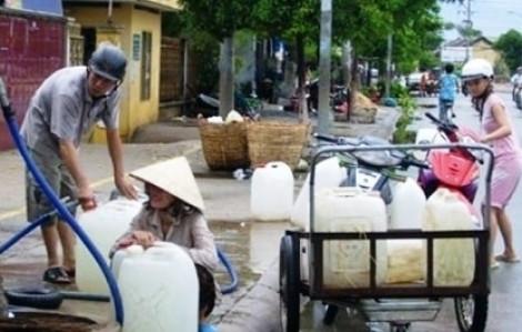 Kế hoạch cấp nước tại  H.Củ Chi bị nghẽn mạch