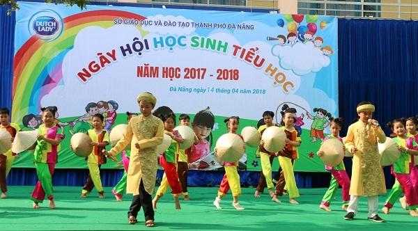 FrieslandCampina Viet Nam dong hanh cung Ngay hoi hoc sinh tieu hoc thanh pho Da Nang