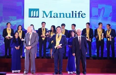 Manulife Việt Nam được vinh danh 'Dịch vụ bảo hiểm nhân thọ tốt nhất' lần thứ 9