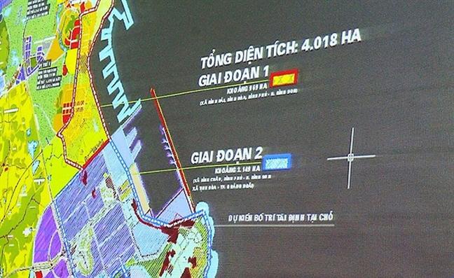 Quang Ngai gui cong van 'hoa toc' xin doi ca don bien phong lam resort?