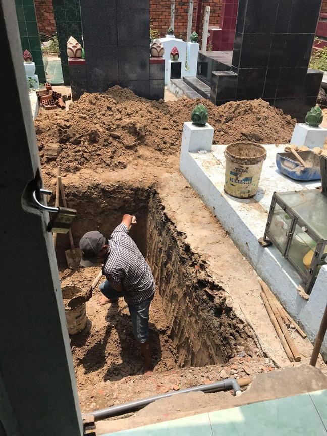 Can xu ly kien quyet viec mai tang trong khu dan cu