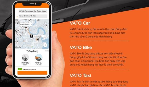 CEO Vato thua nhan gia cuoc xe ngan Vato dat hon Grab