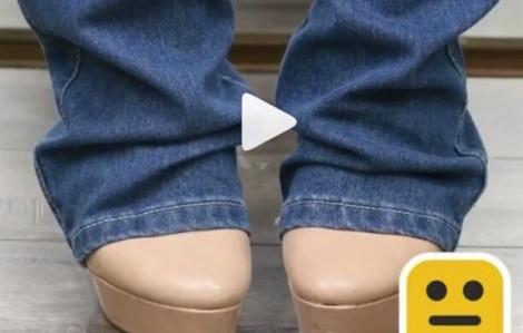 Mẹo xử lý quần jean quá dài, rộng lưng, hư dây kéo