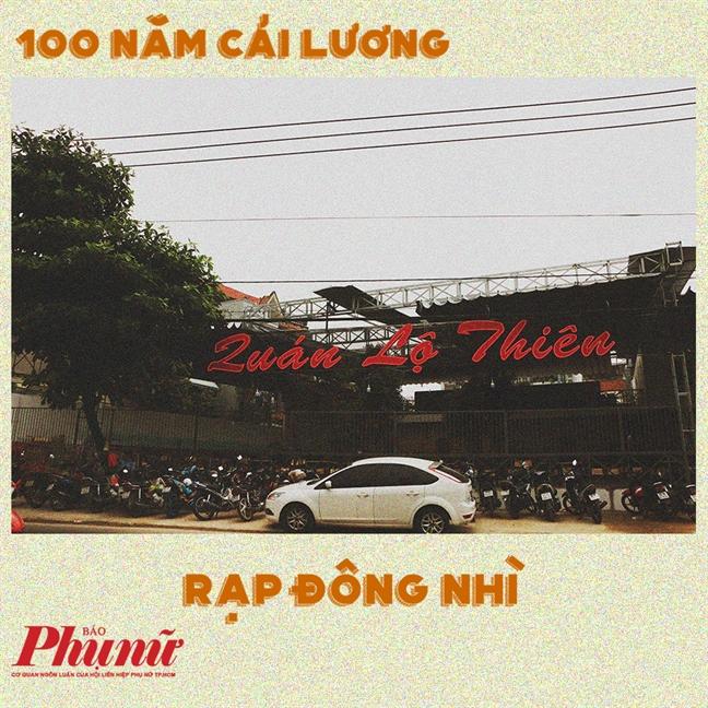 100 nam cai luong: Nhung rap hat ngay xua, nay con lai gi?