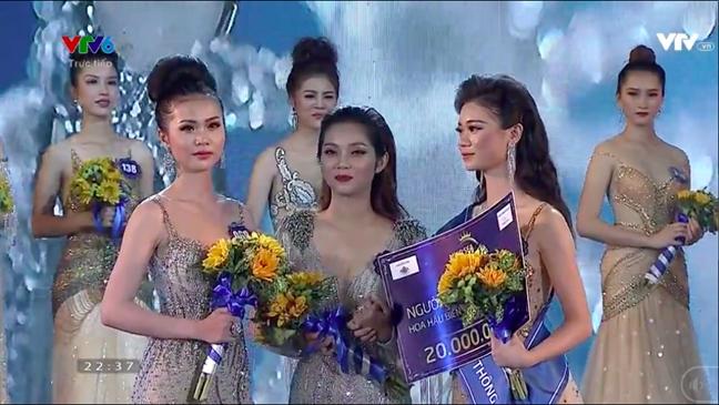 Nguoi dep ung xu te nhat dang quang 'Hoa hau Bien Viet Nam Toan cau 2018'