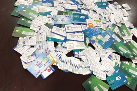 SIM 'rác' vẫn kiện được nhà mạng