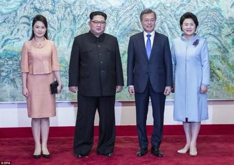 Hội nghị thượng đỉnh liên Triều gây ấn tượng đến phút cuối cùng