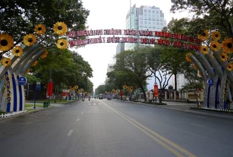 Đường phố Sài Gòn bình yên nghỉ lễ