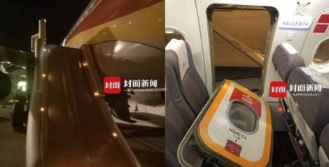 Hành khách Trung Quốc mở cửa thoát hiểm máy bay để lấy không khí