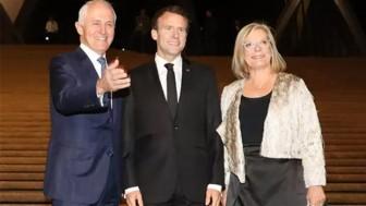 Tổng thống Pháp 'lỡ lời' khi khen phu nhân Thủ tướng Australia?