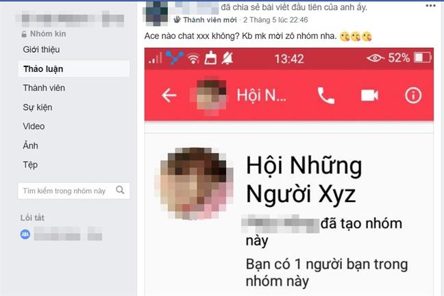 Thac loan 'cho tinh' online