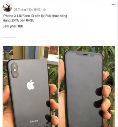 Hàng loạt iPhone X bán lỗ vì lỗi nhận diện gương mặt