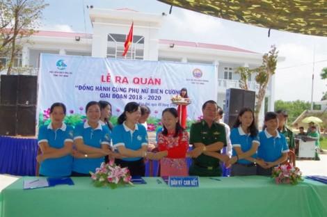 Hội Phụ nữ Tây Ninh ra quân chương trình 'Đồng hành cùng phụ nữ biên cương'