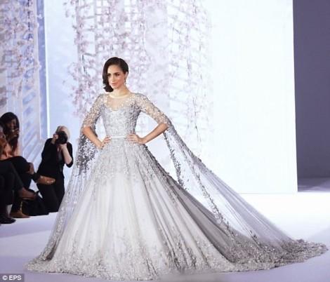 Tiết lộ về váy cưới hơn 3 tỷ đồng của công nương tương lai Meghan Markle