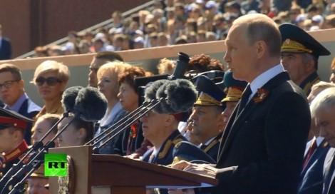 Nga phô trương sức mạnh quân sự tại cuộc duyệt binh Ngày Chiến thắng