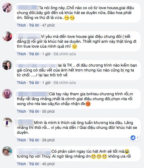 Nha san xuat len tieng ve nguoi choi 'chai mat' o gameshow hen ho