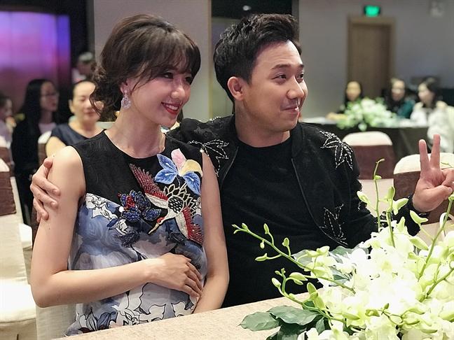 Tran Thanh: 'Toi va Hari Won khong muon sinh con som'