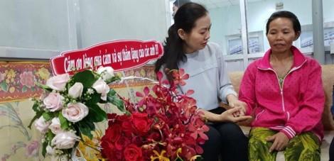 Hội Liên hiệp Phụ nữ TP.HCM thăm và hỗ trợ các hiệp sĩ bị nạn