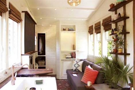 Giải pháp tuyệt vời cho nhà nhỏ hiện đại