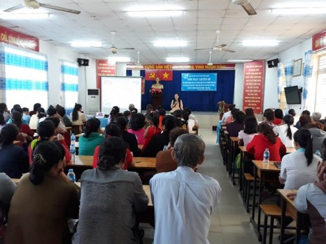H.Bình Chánh: Hơn 100 người dự sinh hoạt chuyên đề