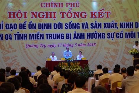 Chính phủ tiếp tục hỗ trợ ngư dân bám biển sau sự cố môi trường ở miền Trung