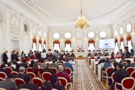 Nước Nga trang trọng kỷ niệm 95 năm ngày Bác Hồ lần đầu tiên đến Petrograd